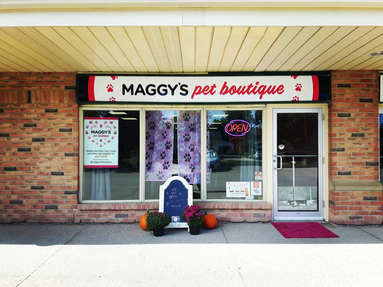 Now open at 4520 Ontario Street, Beamsville, Ontario