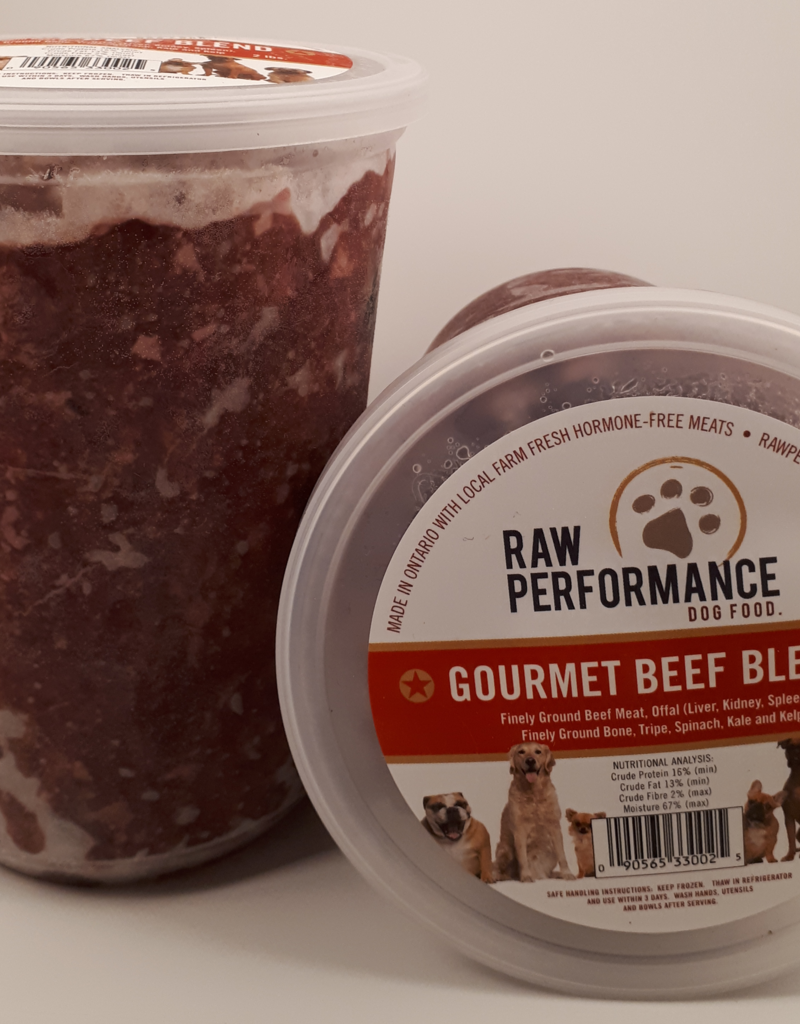 Raw Performance Raw Performance Gourmet Beef 2lbs