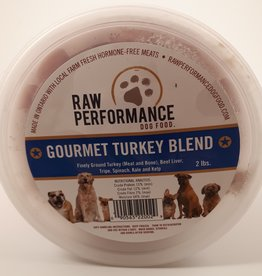Raw Performance Raw Performance gourmet turkey 2lbs