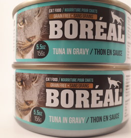 Boreal BOREAL Tuna with Whitefish in Gravy CAT 156g