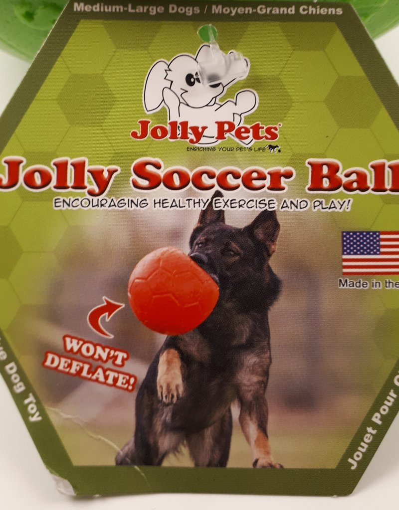 "Jolly Pets Jolly Pets 8"" soccer ball"