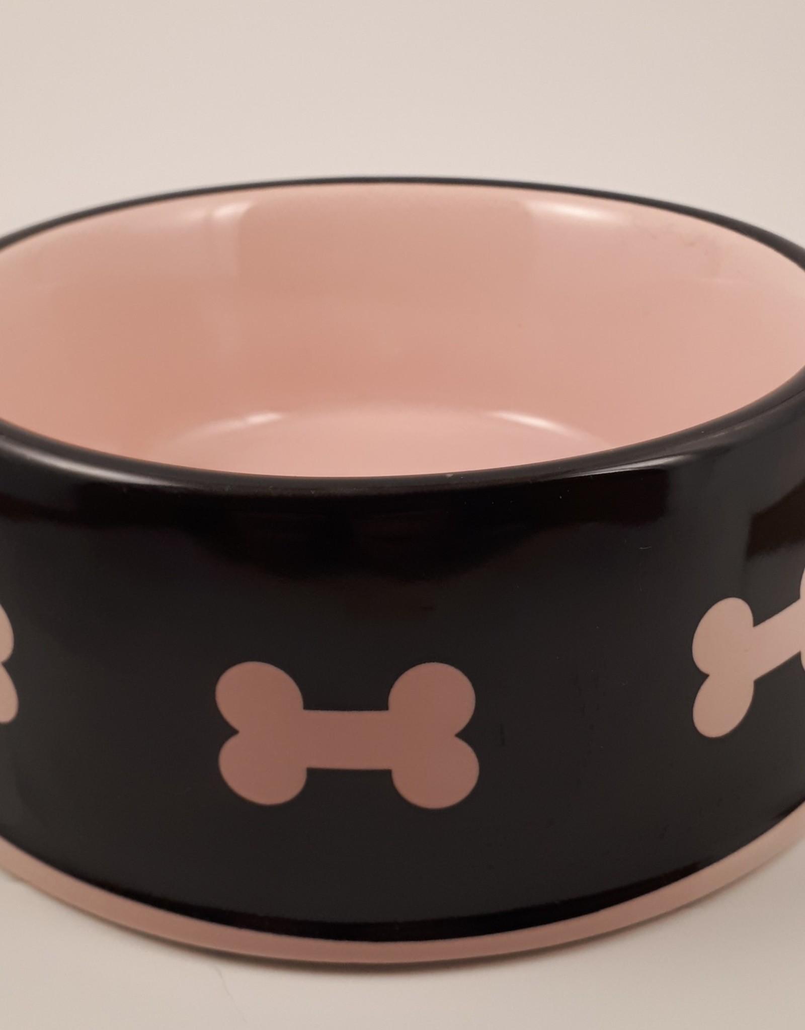 """Pawstone Pink 6"""" Bowl"""