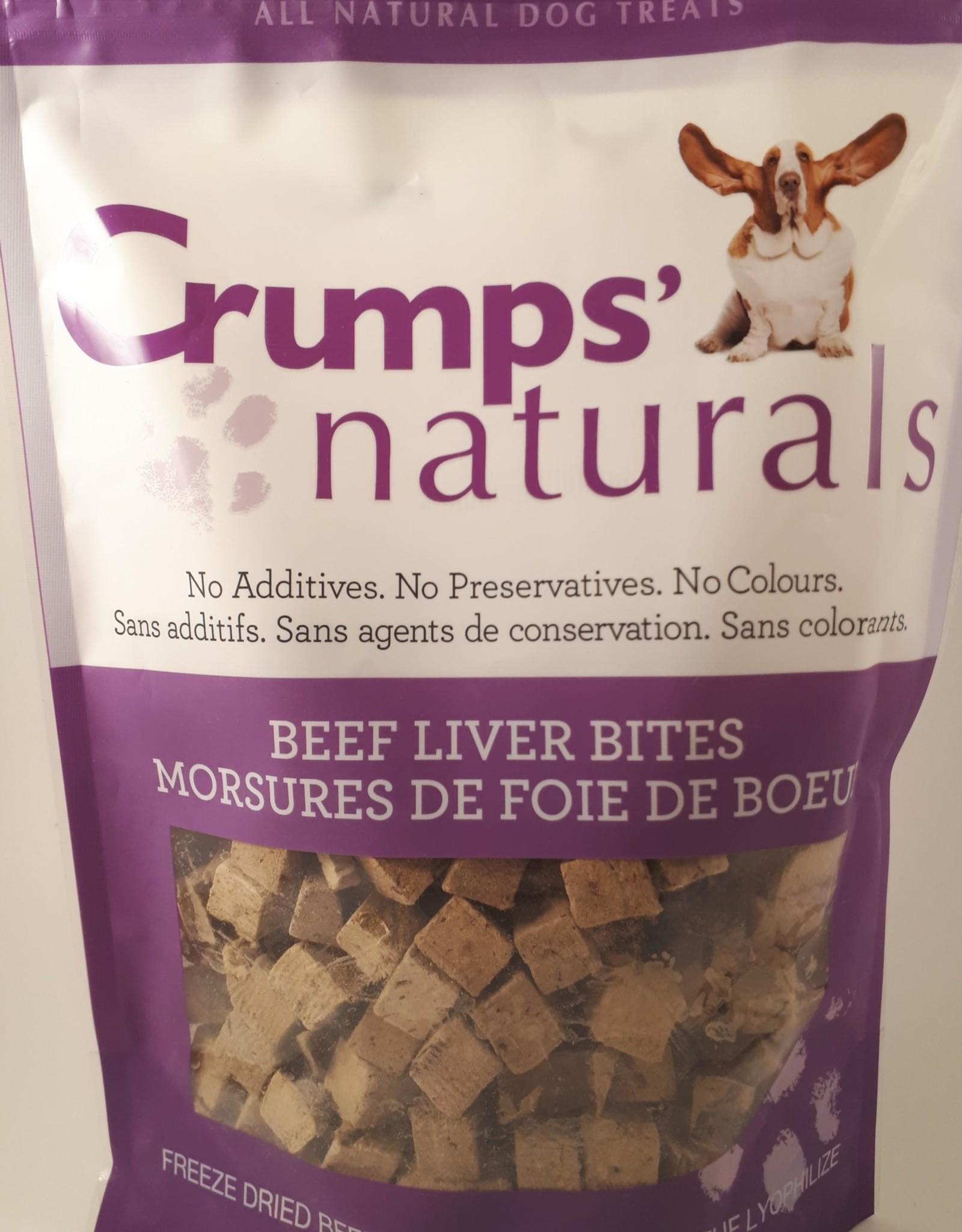 Crumps Natural Crumps' Naturals Beef Liver Bites - 135g