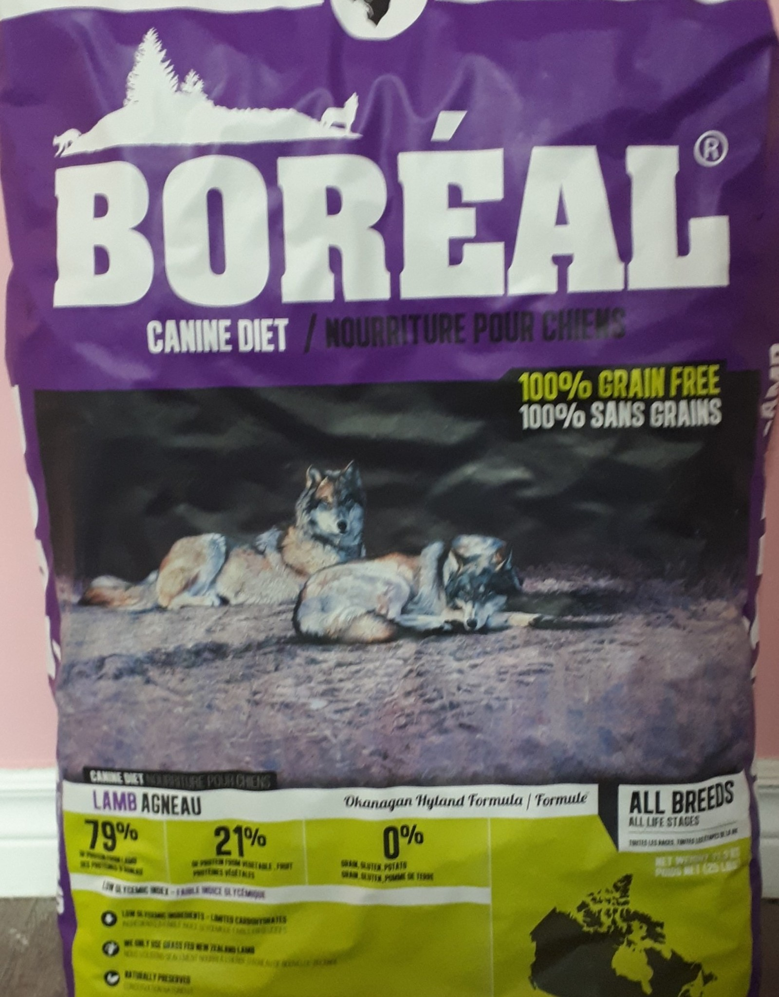 Boreal Boreal Lamb dog food 11.33kg
