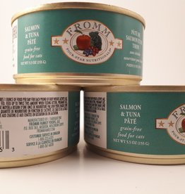 Fromm- Four Star Fromm Salmon & Tuna pate cat 5.5oz