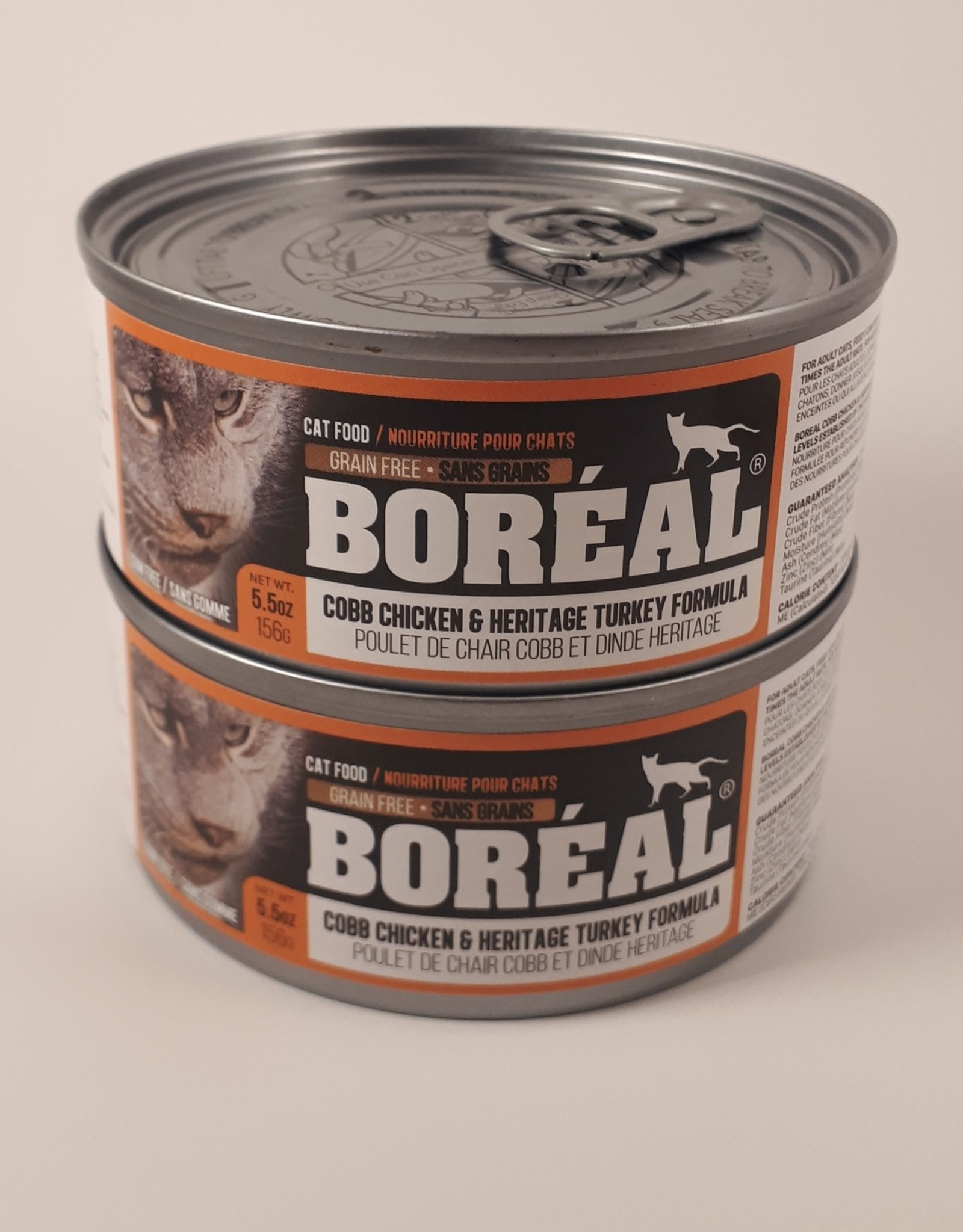 Boreal BOREAL Cobb Chicken and Heritage Turkey CAT 156g