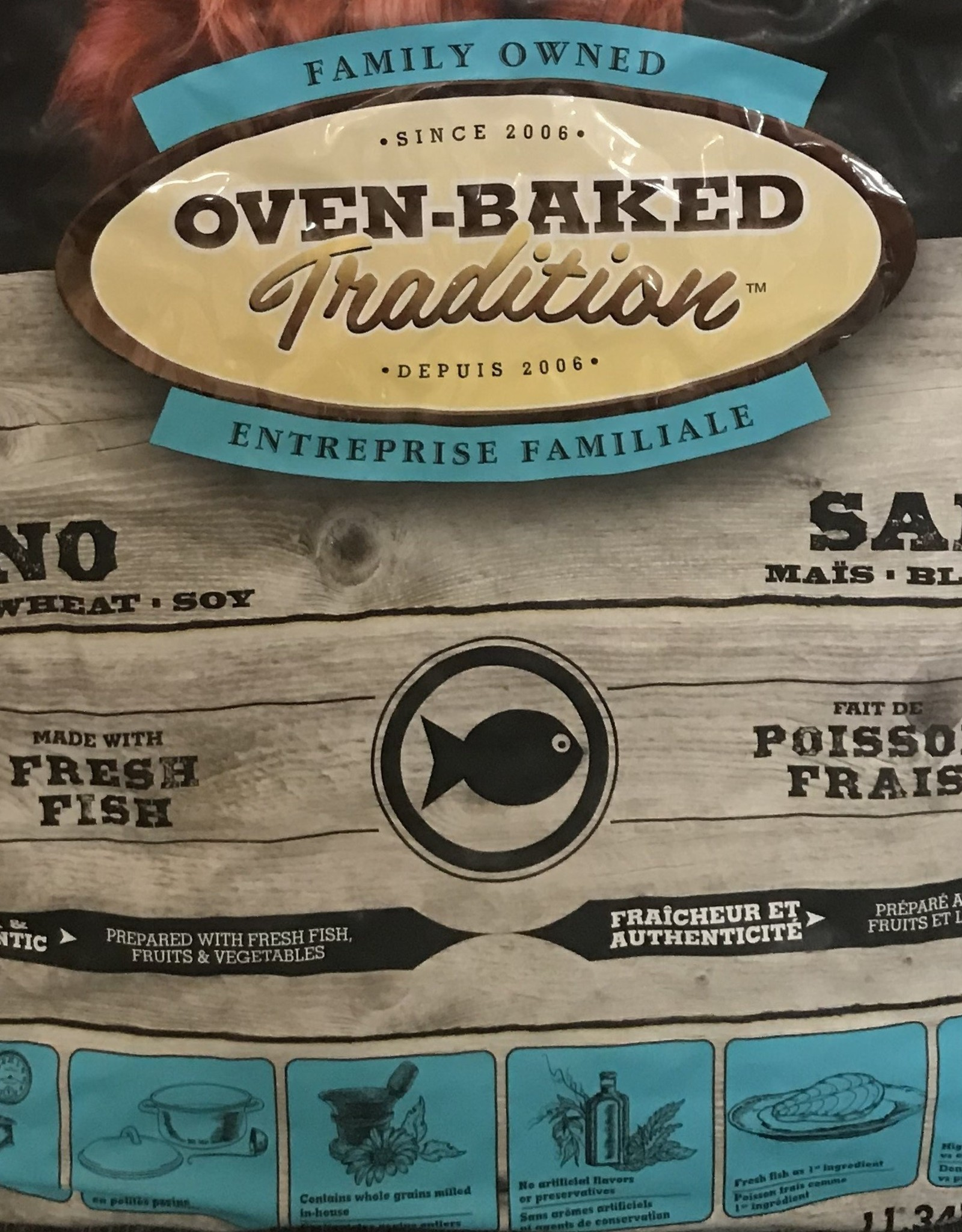 Oven Baked Tradition Oven Baked Tradition adult fish 25lbs