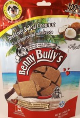 Benny Bully Benny Bully Pure Beef Liver Plus Real Coconut 58g