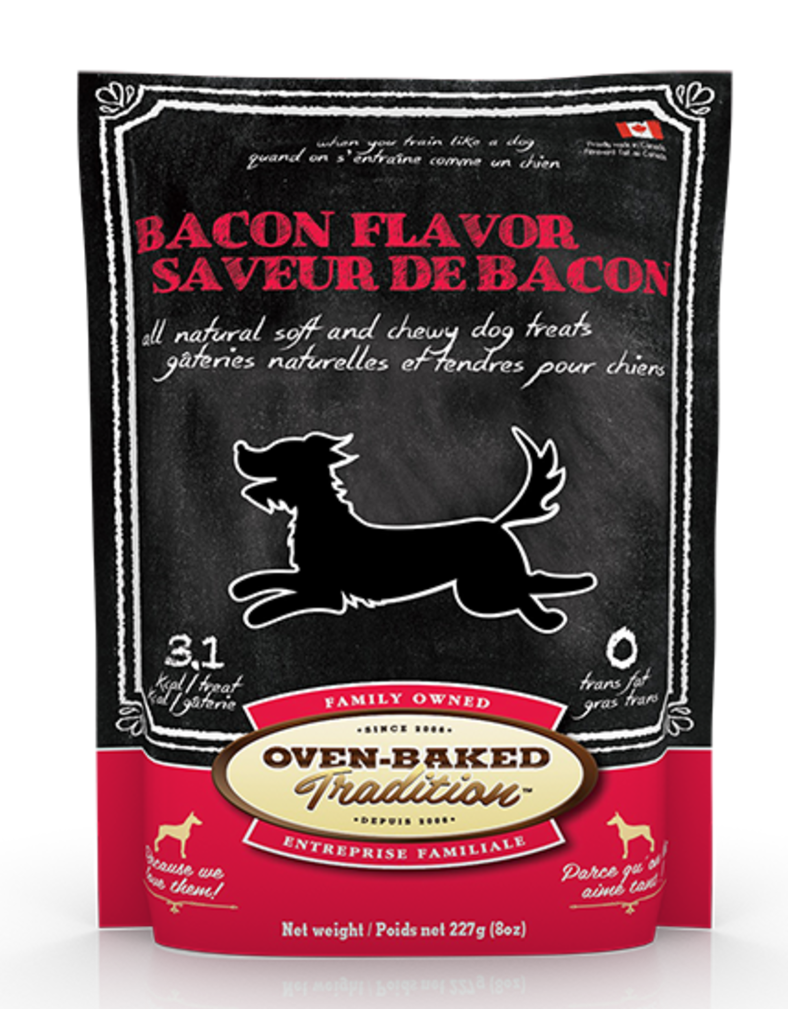 Oven Baked Tradition Oven Baked Tradition bacon flavour dog treats