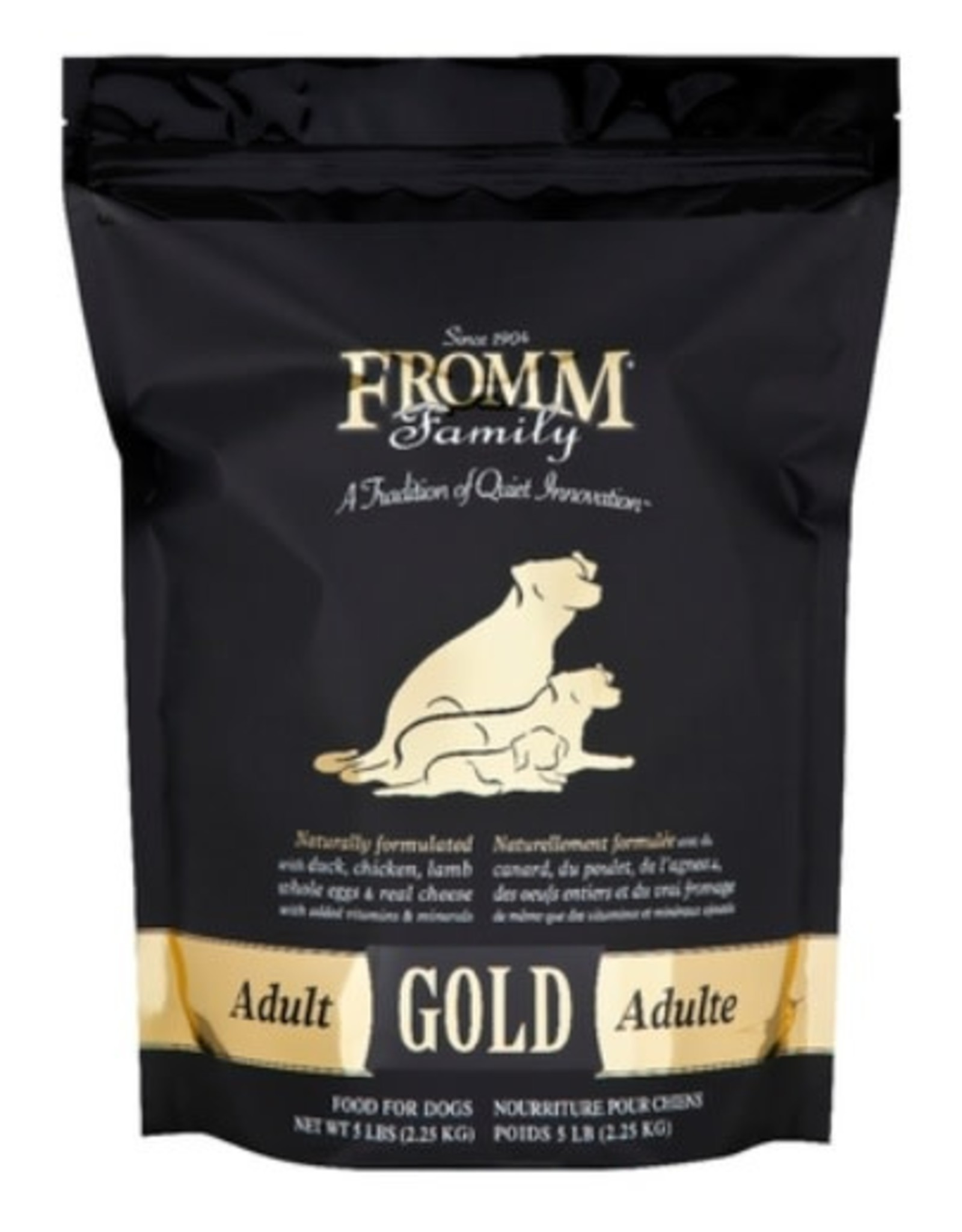 Fromm- Four Star Fromm Adult Black & Gold 33lb dog 15kg