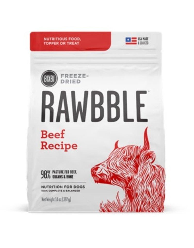 rawbble rawbble beef 14oz