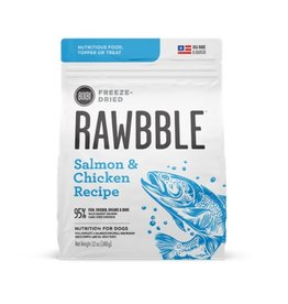 rawbble Rawbble Freeze Dried Salmon & chicken 12oz