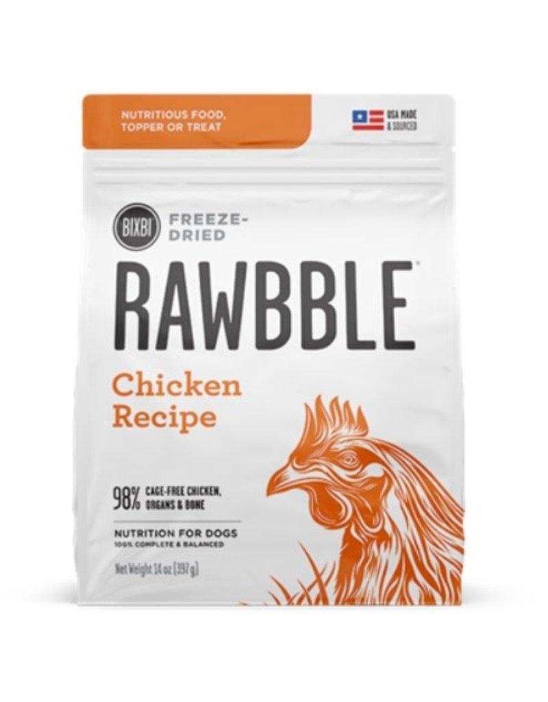 Rawbble Freeze Dried chicken 14oz