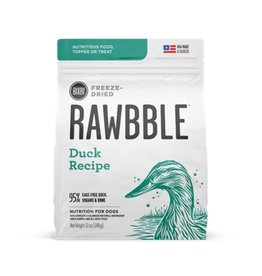 Bixbi Pet Rawbble Freeze Dried duck 12oz