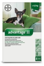 Advantage II Small Dog flea treatment