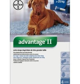 Bayer Advantage II ex large dog 25kg Flea Treatment