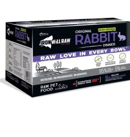 Iron Will Raw Iron Will Raw Original Rabbit 6lb