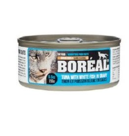 boreal Boreal Tuna with White Fish cat 80g
