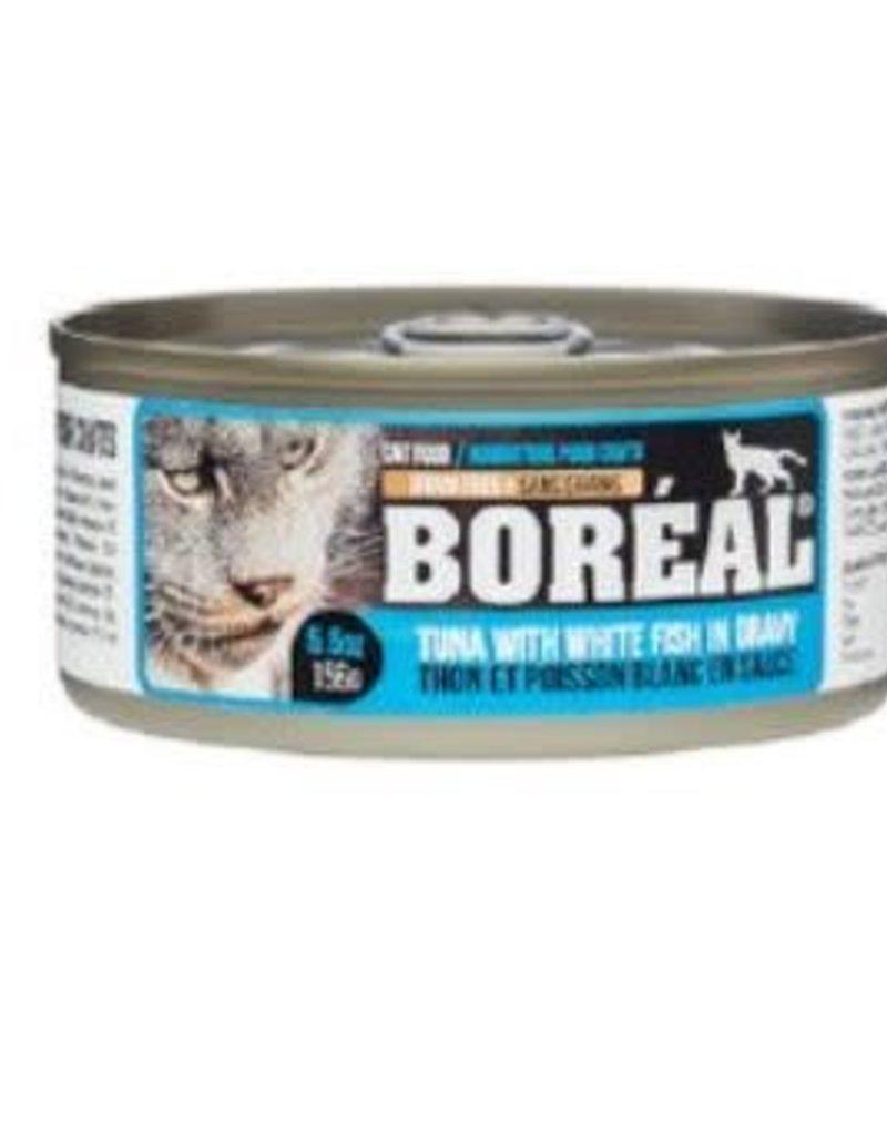 boreal Boreal Tuna with White Fish cat 80g