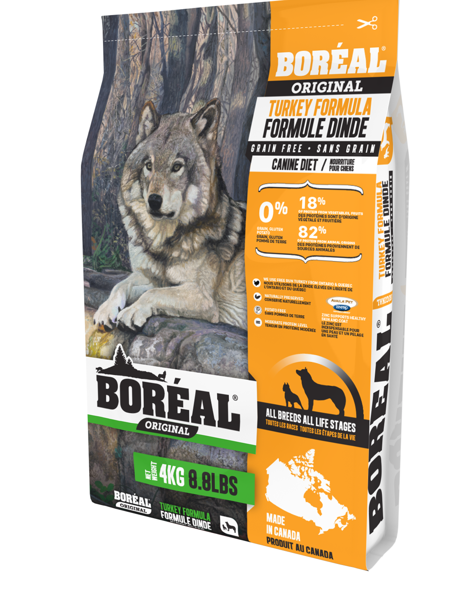 Boreal BOREAL Grain Free Turkey DOG 11.33kg
