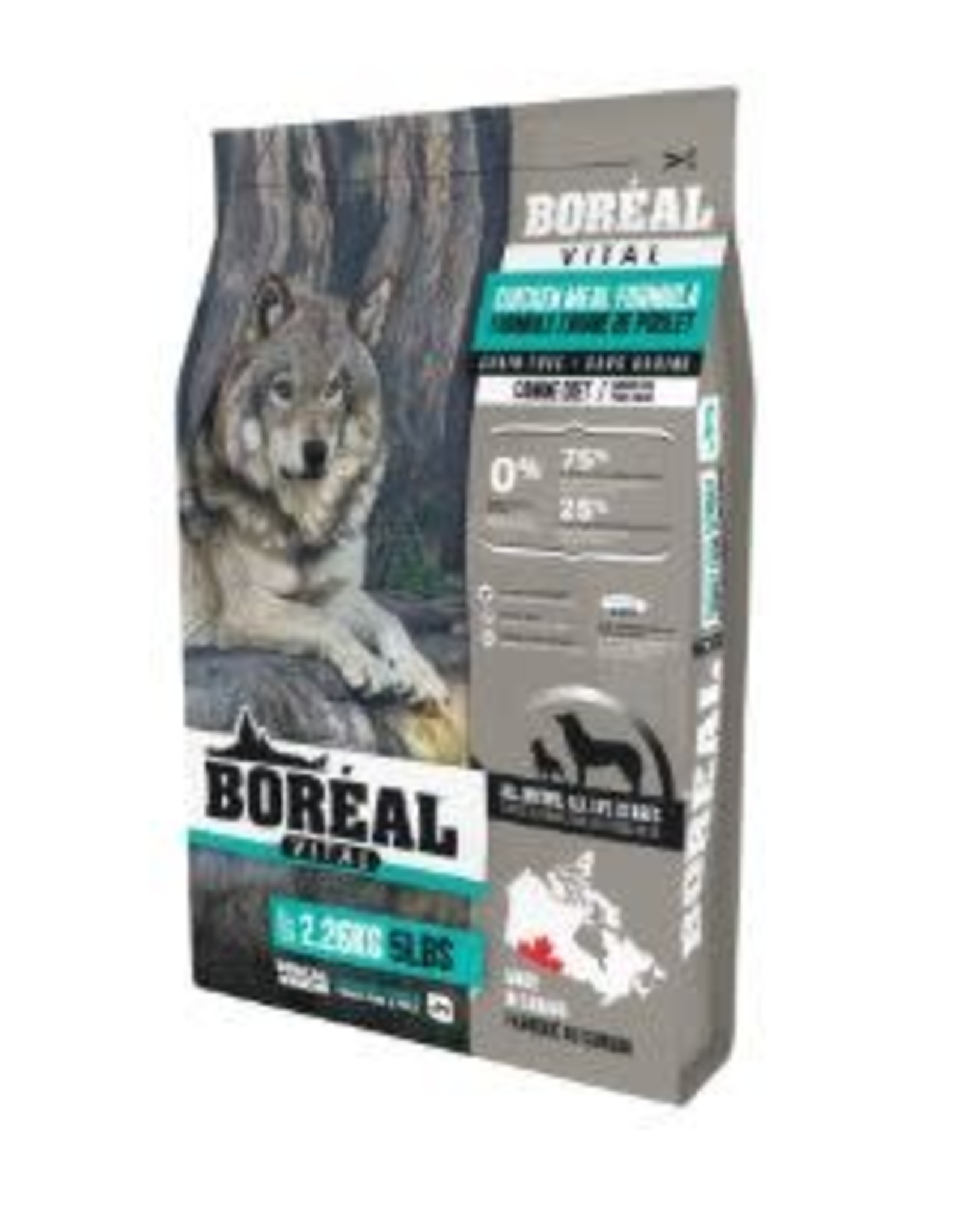 Boreal BOREAL Vital Grain Free Chicken DOG All Breeds  11.33kg