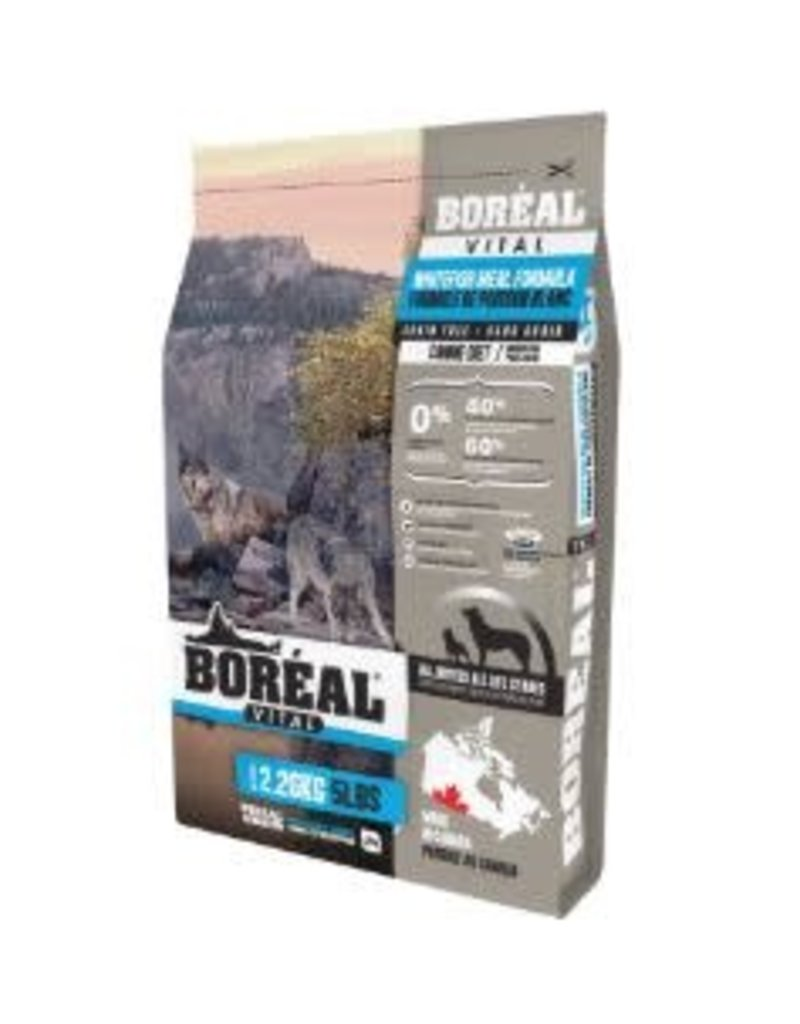 boreal Boreal Vital All Breed Whitefish Grain Free Dog Food11kg