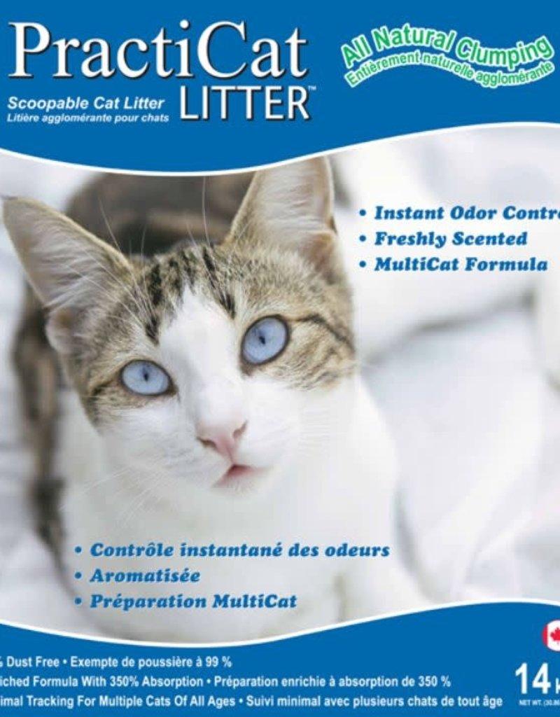 Practicat Clumping Cat Litter 14kg