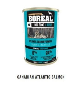 Boreal Boreal Canadian Atlantic Salmon dog can 396g