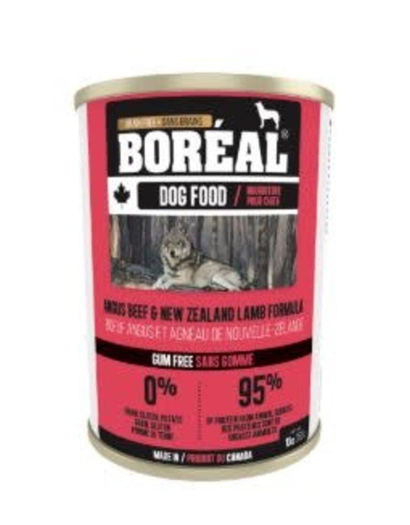 boreal Boreal Angus Beef & New Zealand Lamb dog can 396g