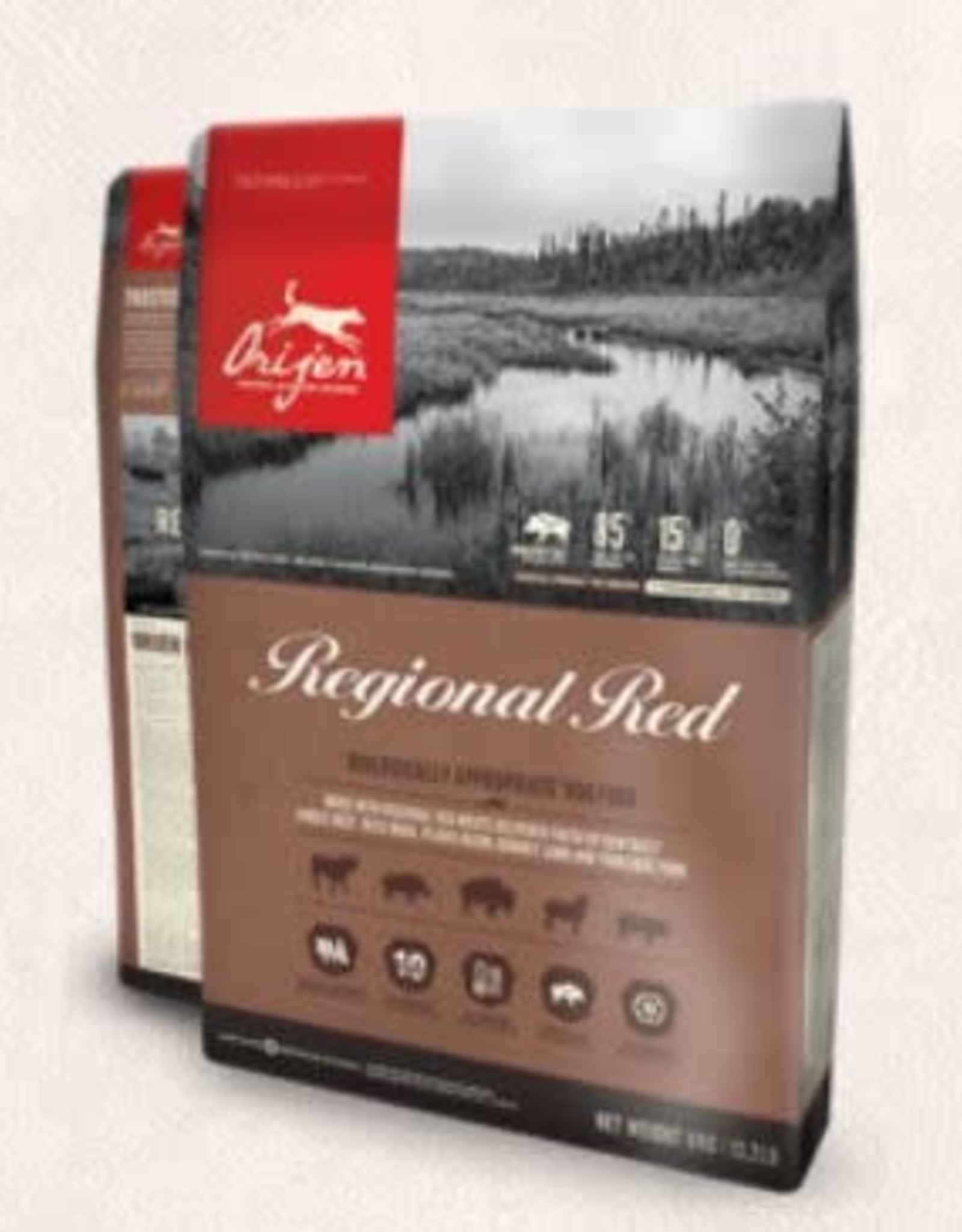 Orijen Orijen Regional Red dog food 11kg