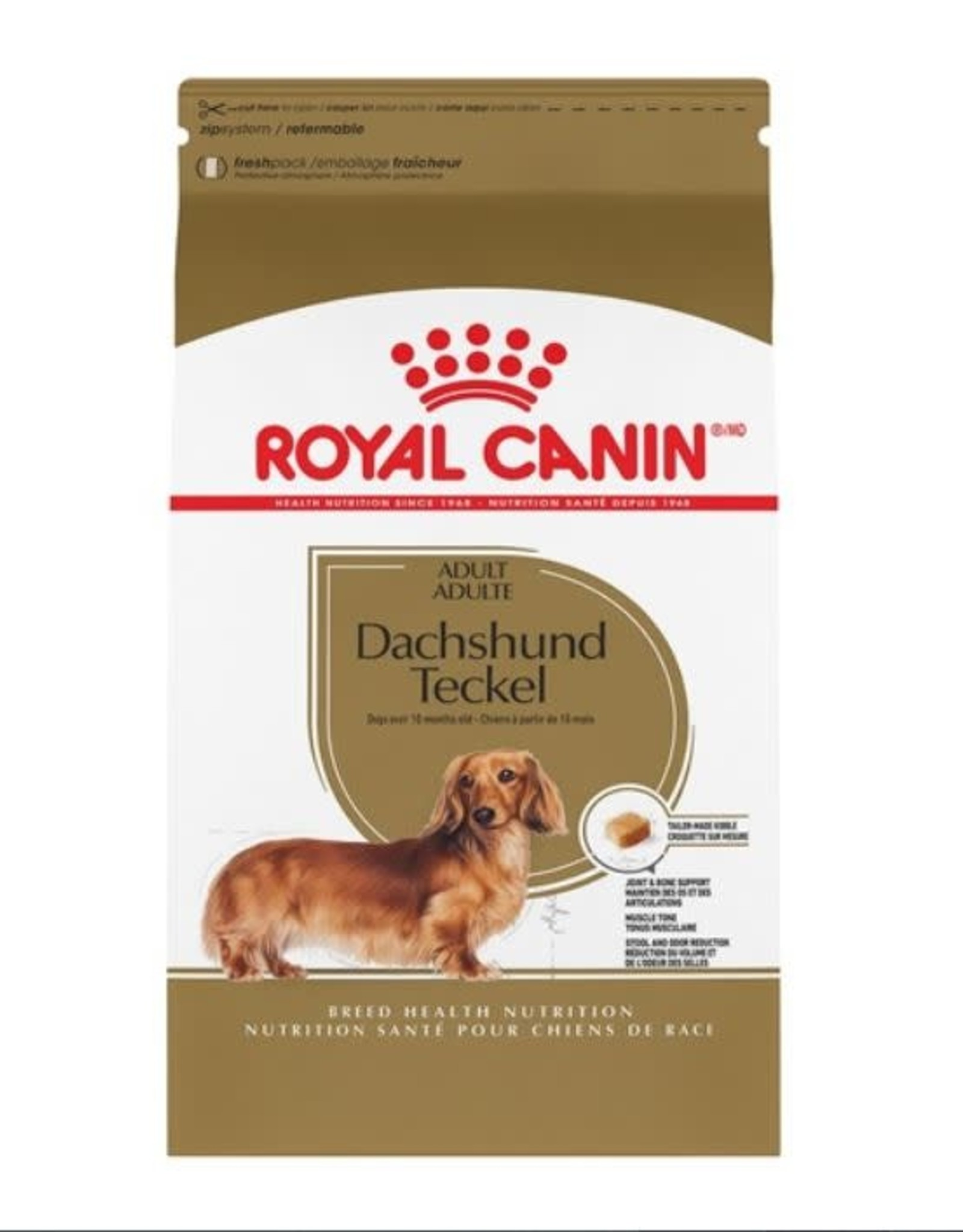 royal canin Royal Canin Dachshund Adult Dry Dog Food 2.5kg