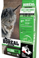 Boreal Boreal Turkey and Trout Dry Cat Food 2.26kg
