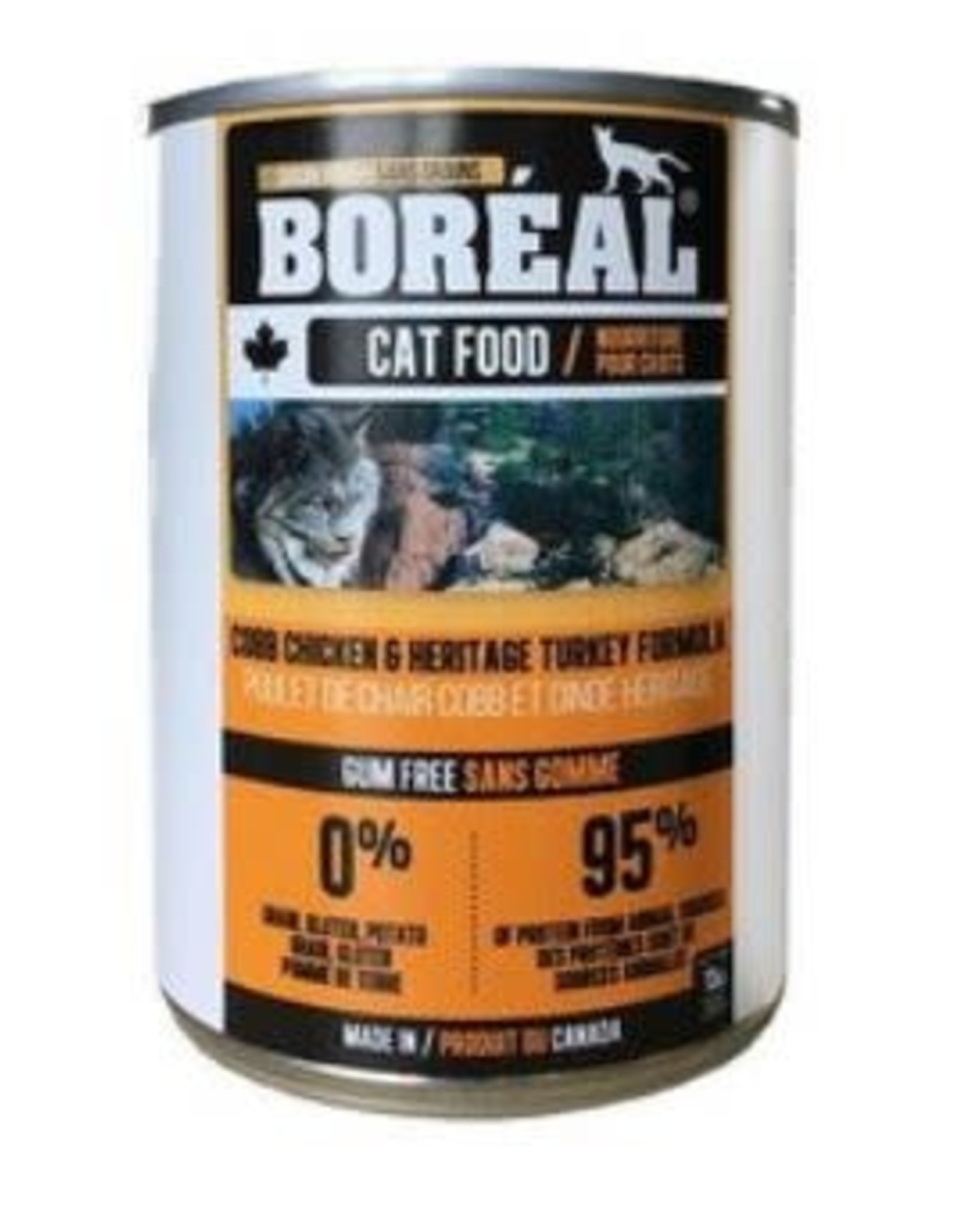 Boreal Boreal Cobb Chicken and Heritage Turkey Formula cat 369g