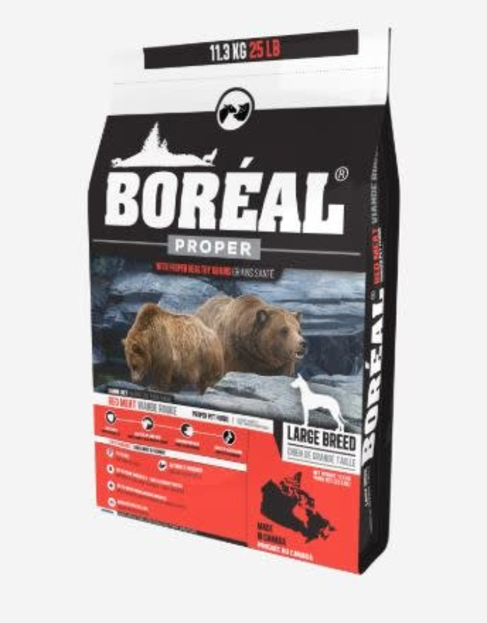boreal Boreal Proper Large breed red meat 11kg