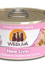 Weruva Weruva Nine Liver Canned Cat Food 5.5 oz