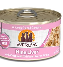 Weruva Weruva Nine Liver Canned Cat Food 5.5 oz