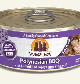 weruva Weruva Polynesian BBQ Canned Cat Food 5.5 oz