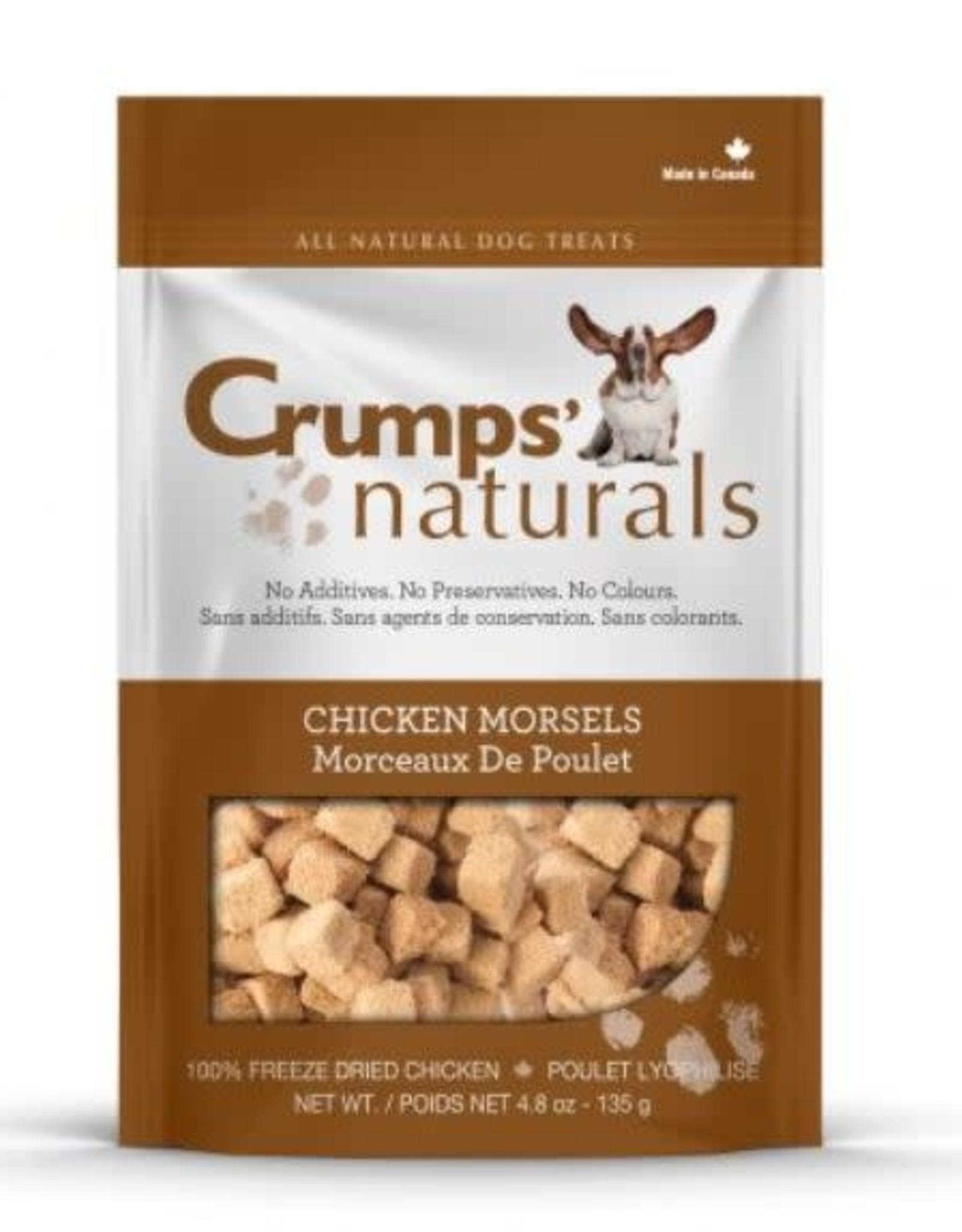 Crumps Natural Crumps Chicken Morsels  2.3oz /65g