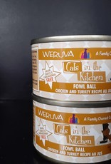 weruva Weruva Cats In The Kitchen Fowl Ball 3.2oz