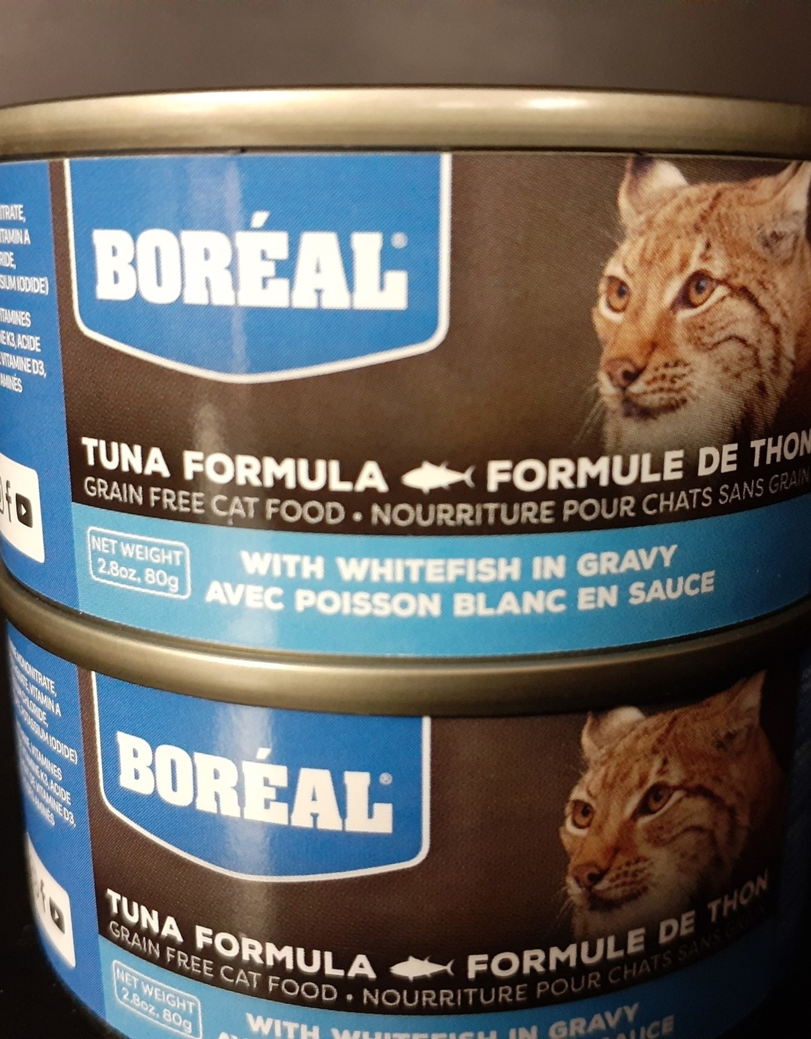 Boreal BOREAL Tuna with Whitefish in Gravy CAT 80g