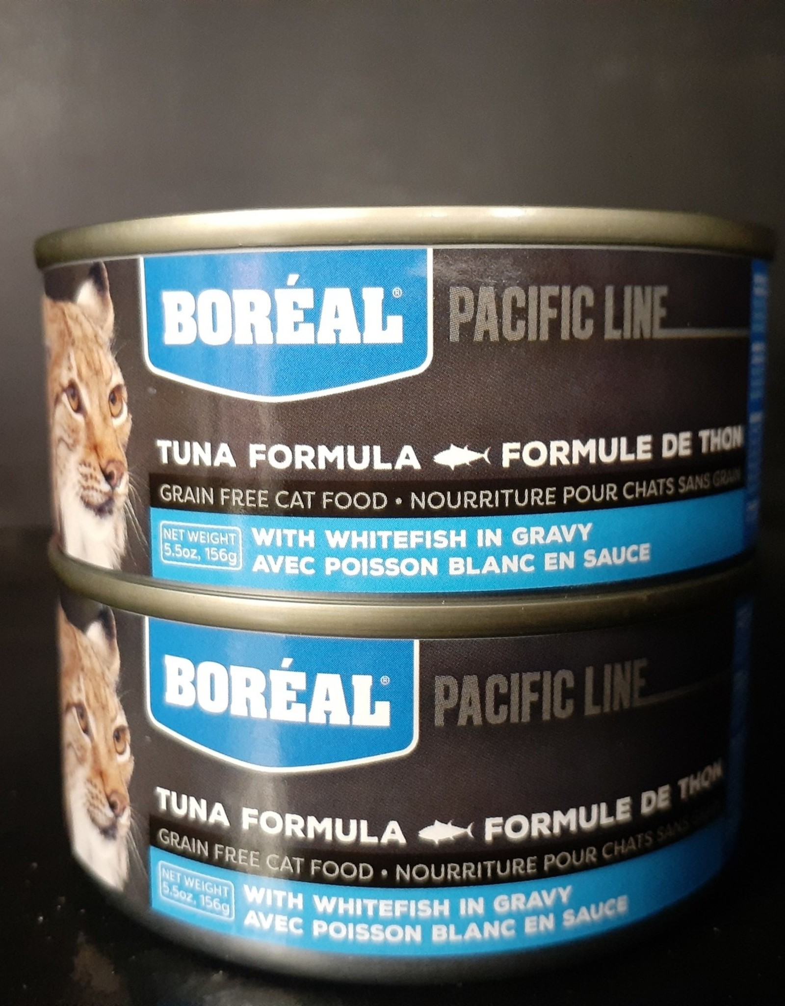 boreal Boreal Tuna in Gravy with Whitefish canned cat food 156g (5.5oz)