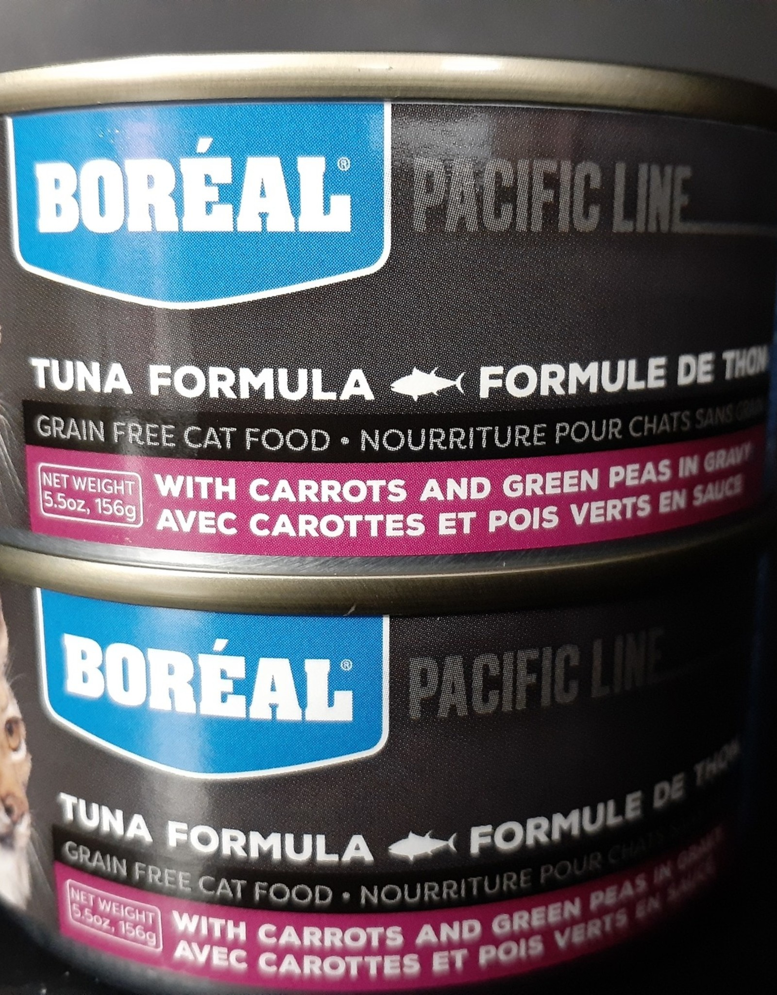 boreal Boreal Cat Food Tuna Carrot Green Pea 156g