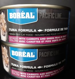 boreal Boreal Cat Food Tuna Carrot Green Pea 156g