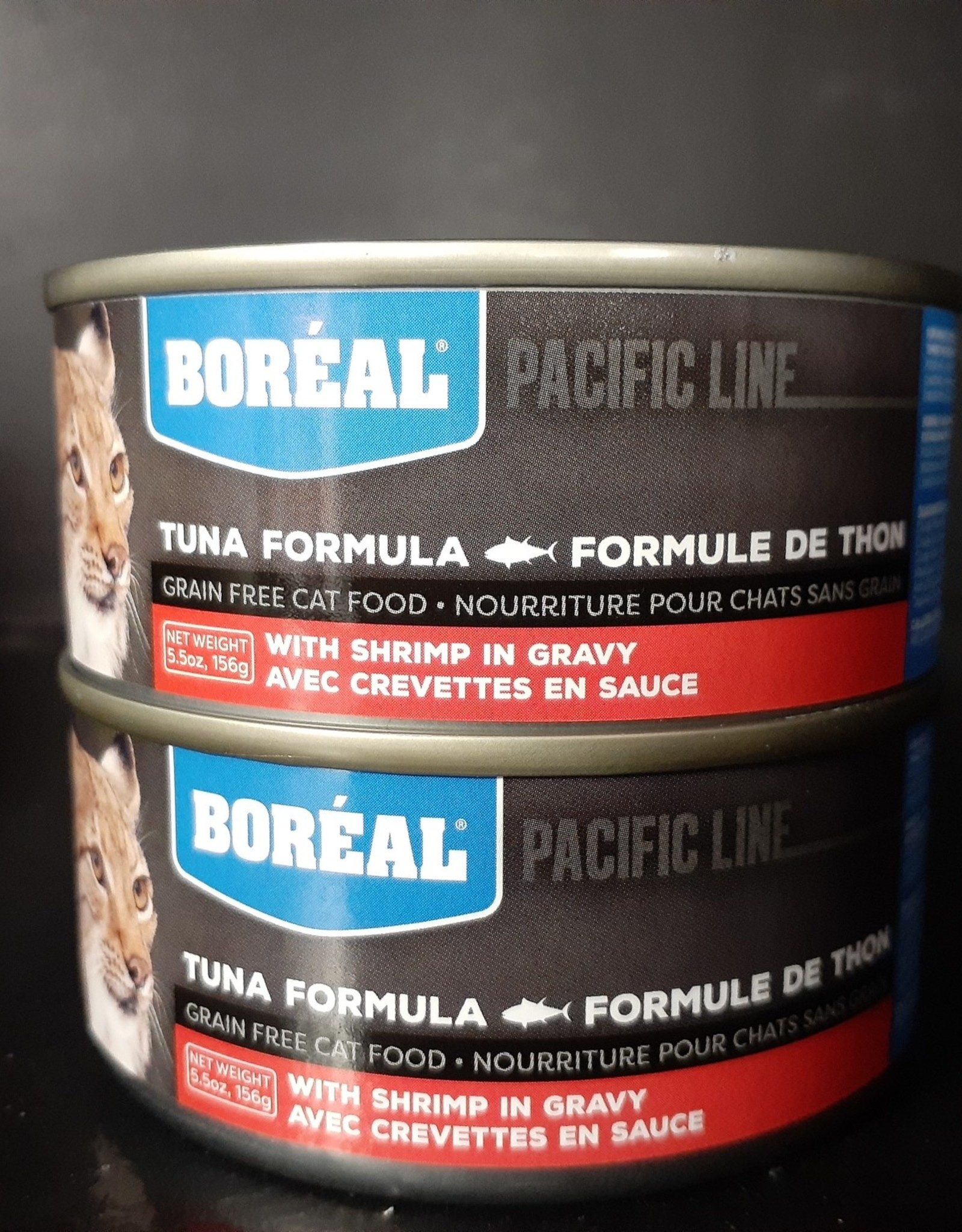 boreal boreal tuna with shrimp 5.5 oz 156gm