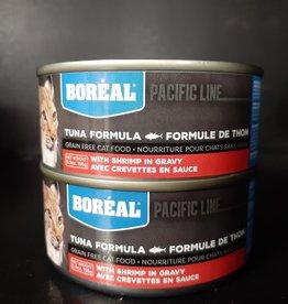 boreal boreal tuna with shrimp 5.5 oz 156gm