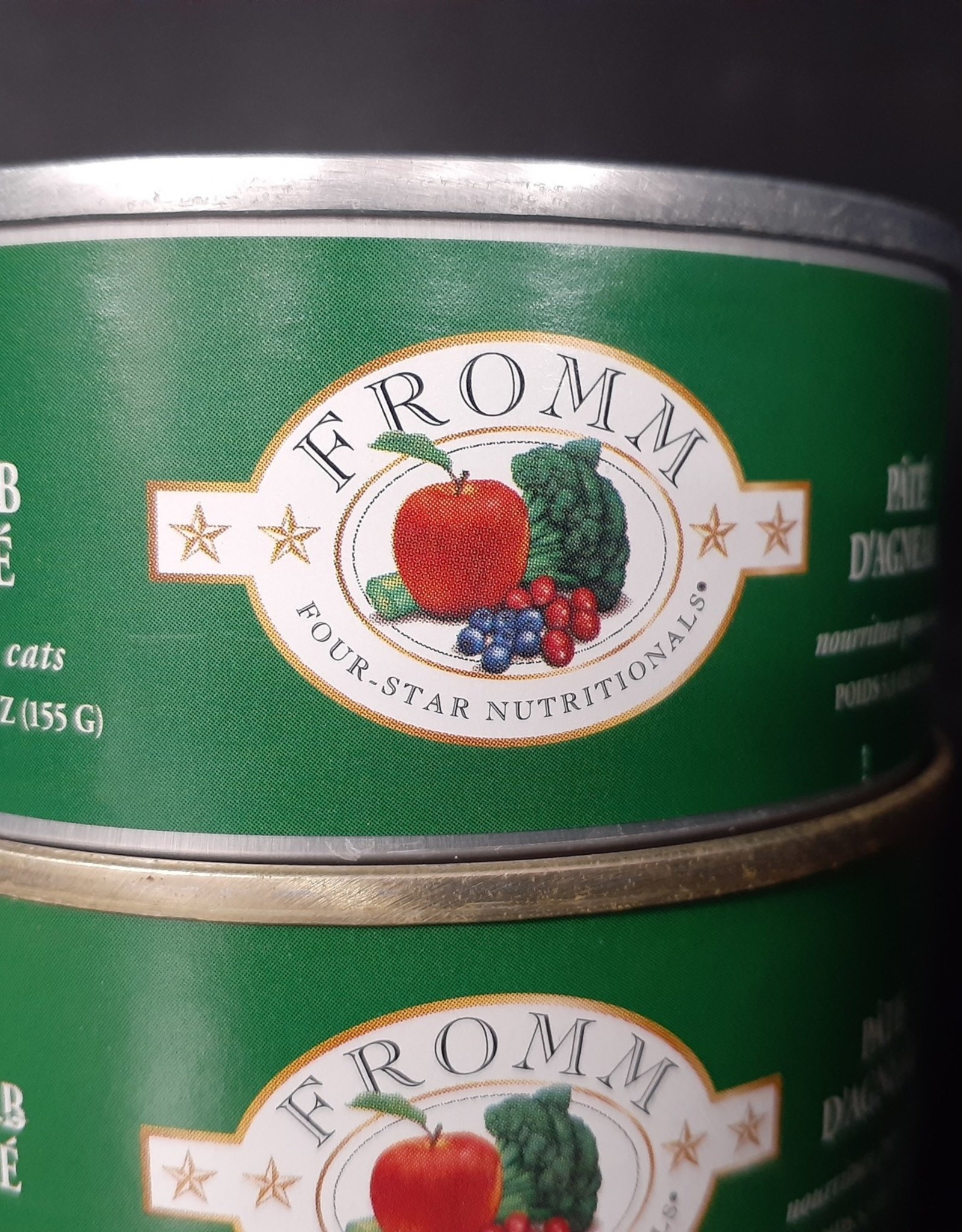 Fromm- Four Star Fromm 4-Star Lamb Pate 5.5oz cat