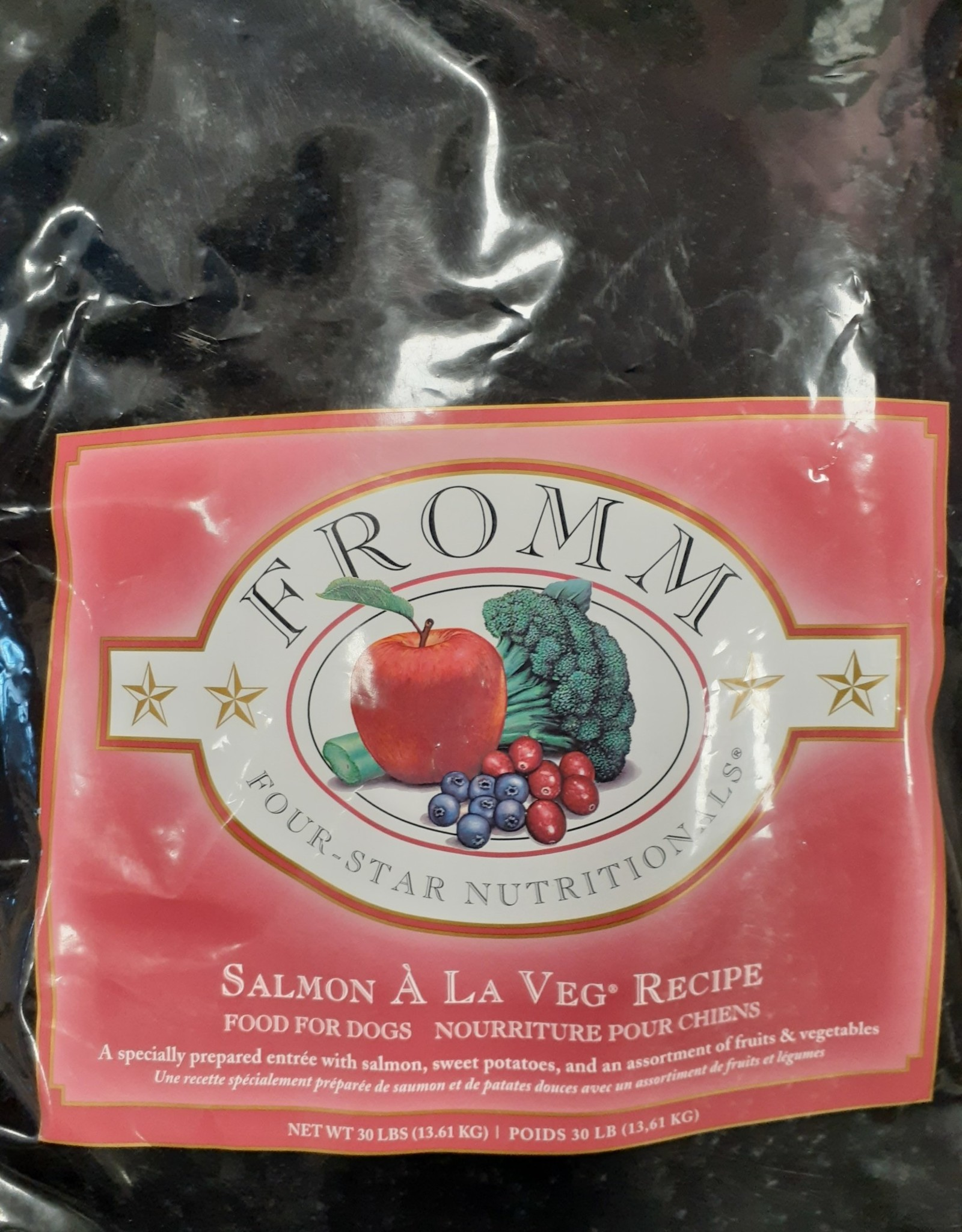 Fromm- Four Star Fromm Salmon & Sweet Potato 30lb