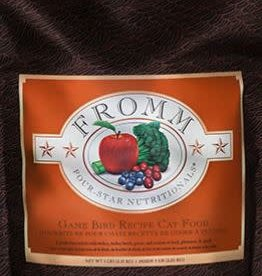 Fromm- Four Star Fromm Game bird 5lbs cat