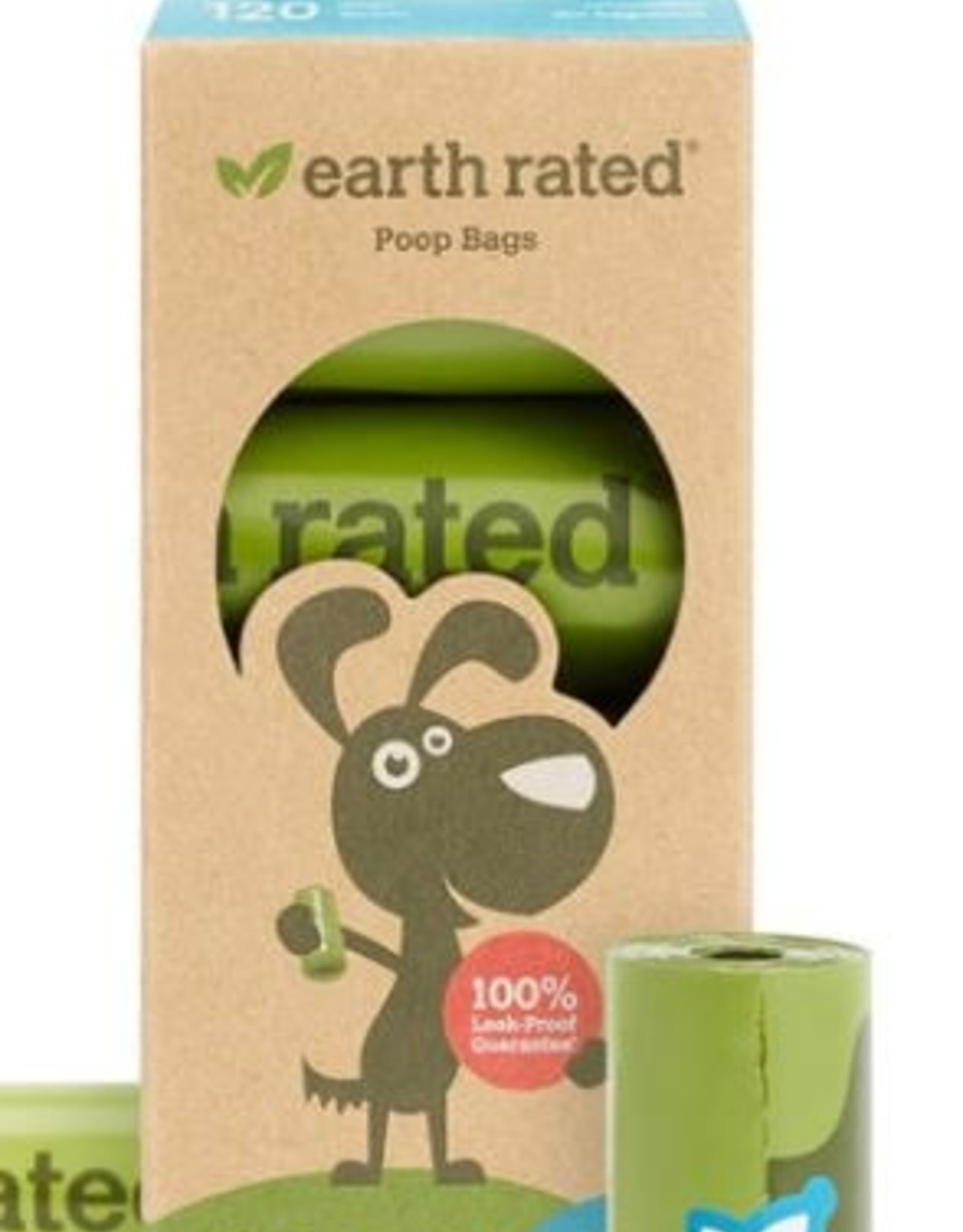 Earth Rated Earth Rated Poop Bags - 8 roll box