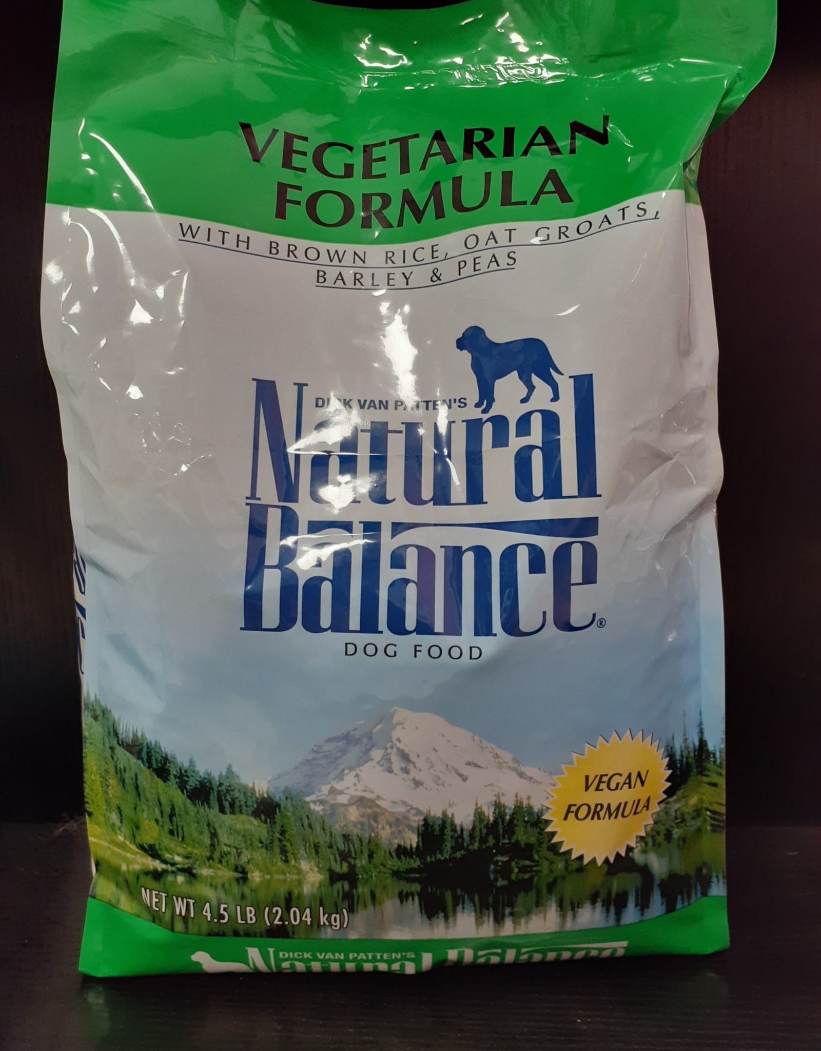 Natural Balance Vegetarian Dog Food 4.5lb